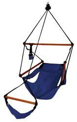 Hammock Chair Midnight Blue/Wood