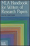 Mla Handbook for Writers of Research Papers (0641628838) by Joseph Gibaldi