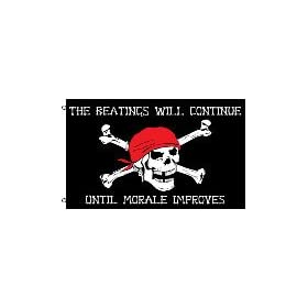 Pirate Morale 3'x5' Polyester Flag