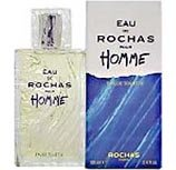 Eau De Rochas POUR HOMME par Rochas - 100 ml Eau de Toilette Vaporisateur