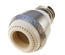 1 5 gpm Chrome Plated Kitchen Faucet Aerator Swivel Spray