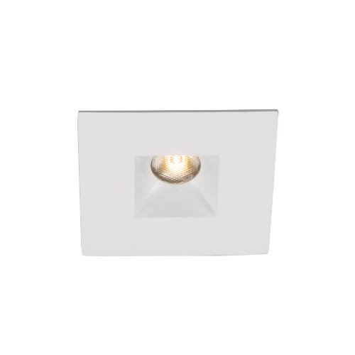 Wac Lighting Hrled271Rcwt Led 2-Inch 3-Watt Miniature Recessed Downlight With Open Reflector Square Trim