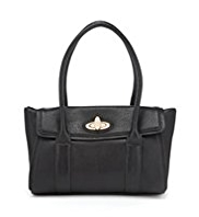 M&S Collection Twistlock Handbag