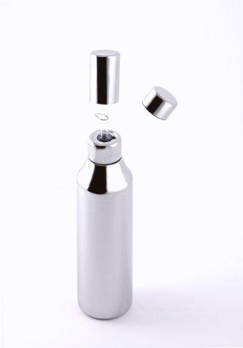 Bottiglia in acciaio inox per olio d'oliva