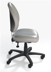 Dss Healthcentric Nursing Station Chair (Granite)