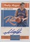 Timofey Mozgov #256/699 New York Knicks (Basketball Card) 2010-11 Classics #180