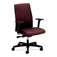 Buy Low Price Comfortable HON Company Products – Executive Mid-Back Chairs, 27″x29″x44-1/4″, Black – Sold as 1 EA – Executive mid-back chair is designed to provide comfortable support to those who spend more than half the day at their desk or at their computer. As part of the HON Ignition Seating Series, this chair is perfect behind a desk or around a conference table. Functions include pneumatic seat-height adjustment, seat glide mechanism, back angle adjustment, ratchet back-height adjustment, 360-degree swivel, tilt, (B004E3K52C)