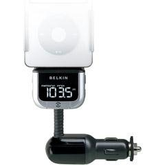 Belkin Tunebase Fm Transmitter With Clearscan For Ipod