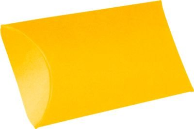 Medium Pillow Boxes (2 1/2 x 7/8 x 4) - Sunflower Yellow (10 Qty.)