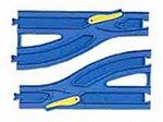 プラレール 単線複線ポイントレール各1本入