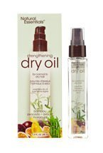 Natural Essentials Strengthening Dry Oil for Normal to Dry Hair with Bambou Avocado & Avocation Maracuja, 1.5 Oz