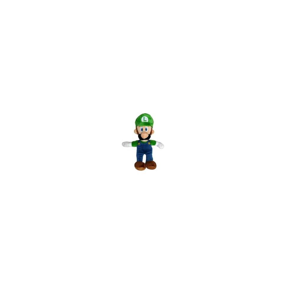 Super Mario Bros. Wii Plush   Luigi