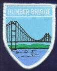 The Humber Bridge East Yorkshire Flag Embroidered Patch Badge
