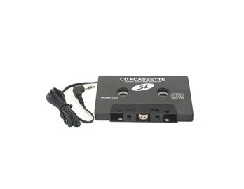 Usb Car Charger Cassette Tape Adapter (Black)