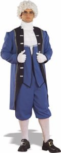 Colonial American Man Adult Halloween Costume