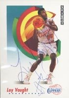 Loy Vaught Los Angeles Clippers 1991 Skybox Autographed Hand Signed Trading Card -... by Hall of Fame Memorabilia