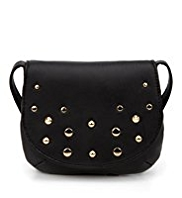Studded Cross-Body Bag