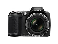 Nikon-Coolpix-L320-161MP-Point-and-Shoot-Camera-Black-with-26x-Optical-Zoom-4GB-Card-and-Camera-Case