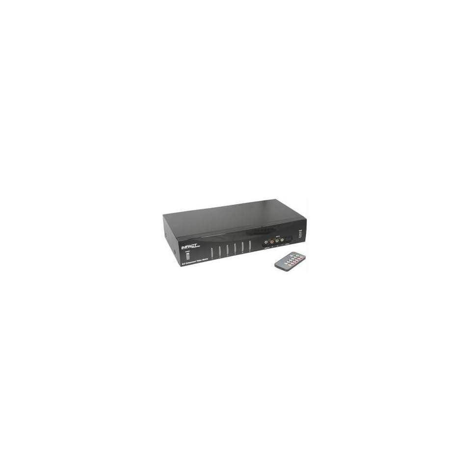 6 X 2 COMPONENT VIDEO MATRIX SELECTOR Catalog Category AUDIO ACCESS PACKGD ANTENNAS RF MODULATORS SELECTORS