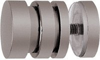 CRL Gun Metal Contemporary Style Single-Sided Shower Door Knob