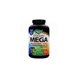 Mega Efa Blend 1350 Mg, 180 sgel ( 8-Pack)