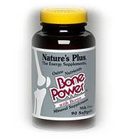 Nature's Plus, Bone Power, with Boron, 180 Softgels