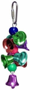 AC 050C Jingle Bells Colored 4in x 2in Small Bird Toy