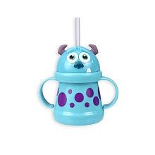 Disney Monsters Inc. Straw Sippy Cup - Sully - 10 oz - 1