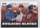 Nolan Fontana, Brian Johnson, Mike Zunino Boston Red Sox, Seattle Mariners, Houston Astros (Baseball Card) 2012 Elite Extra Edition Building Blocks Trio #4