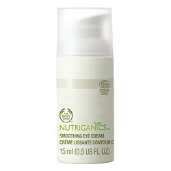 The Body Shop Nutriganics Smoothing Eye Cream, 0.5 Fluid Ounce by The Body Shop