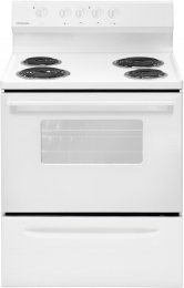 """Frigidaire Ffef3005Mw 30"""" Freestanding Electric Range With In White"""