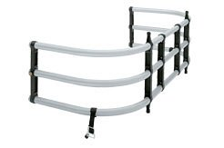 Westin Automotive 10-0000 Bed-X-Tender Fits Standard Width Box Full Size Pickups ; Silver