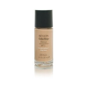 Revlon Colorstay for Combo/oily Skin Makeup with Softflex SPF 6, Nude 200 1 Fl Oz (30 Ml), 1 Each