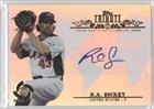 R.A. Dickey Team Usa (National Team) (Baseball Card) 2013 Topps Tribute Wbc Autographs #Wta-Rd