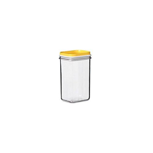 Rosti Mepal 104662083300 Modul Boîte de Rangement SAN/Polyéthylène Jaune Citron 6,5 x 7,5 x 11,8 cm 375 ml