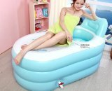 NEW Fashion Adult SPA Inflatable Bath Tub with Air Pump - 1
