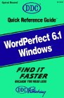 Quick Reference Guide for WordPerfect...