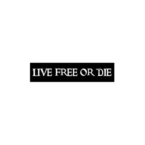 Amazon.com: Live Free Or Die wood sign: Artwork: Artwork