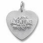 Rembrandt Charms Be My Valentine Charm - Sterling Silver