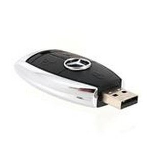Mercedes Benz Ignition Key 16GB 2.0 USB Flash Drive Memory Stick. Keyring Attached. from NUT