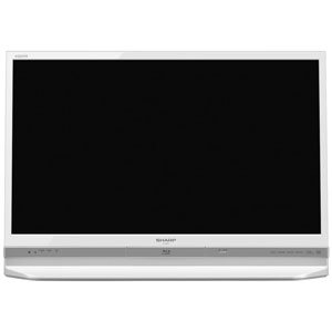 【クリックで詳細表示】SHARP AQUOS BD/HDD内蔵 液晶テレビ 32型 ホワイト系 LC-32DR9W