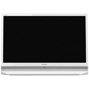 シャープ 32V型 フルハイビジョン 液晶テレビ ブルーレイレコーダー内蔵 500GB HDD内蔵 ホワイト AQUOS LC-32DR9-W
