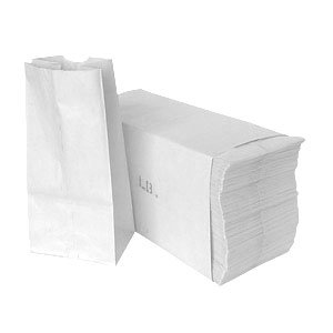 1# White Paper Bag 500/bundle