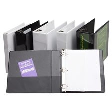 SPR62464 Slant Ring View Binder, 1Capacity, 11x8-1/2, Black - Buy SPR62464 Slant Ring View Binder, 1Capacity, 11x8-1/2, Black - Purchase SPR62464 Slant Ring View Binder, 1Capacity, 11x8-1/2, Black (Sparco, Office Products, Categories, Office & School Supplies, Binders & Binding Systems, Binders, Presentation Books)