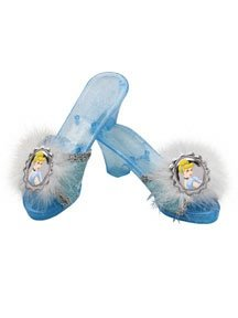 Cinderella Deluxe Jelly Shoes (Child) - Buy Cinderella Deluxe Jelly Shoes (Child) - Purchase Cinderella Deluxe Jelly Shoes (Child) (Party America, Toys & Games,Categories,Pretend Play & Dress-up,Costumes,Accessories)