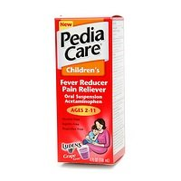 Pediacare Fever Reducer & Pain Reliever, Grape, 4-Ounce