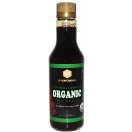 Kikkoman, Organic Soy Sauce, 10 fl oz (296 ml)(pack of 3) (Organic Soy Sauce compare prices)