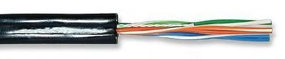Superior Essex 12-004-02 2 pairs 22AWG aerial telephone cable drop wire 750 ft