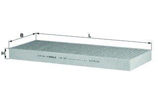 Filter Innenraumluft CITROËN PEUGEOT FIAT LANCIA - Mahle LAK 167