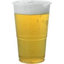 GSL - 50 Gobelets pint en plastique solide